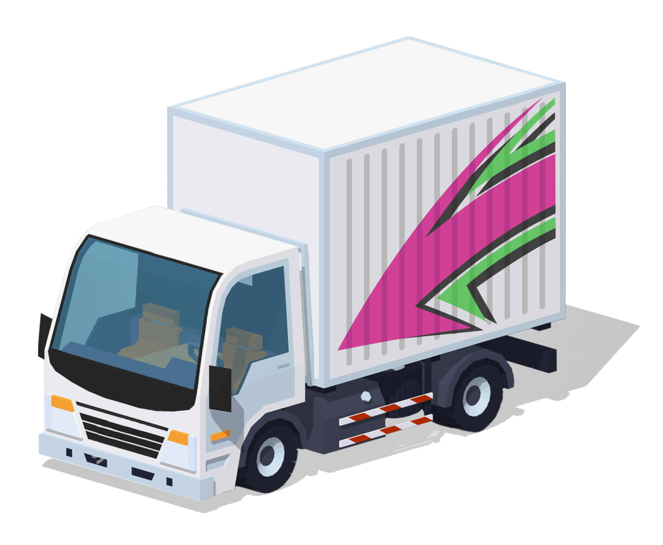 Little-CourierConnection-Truck